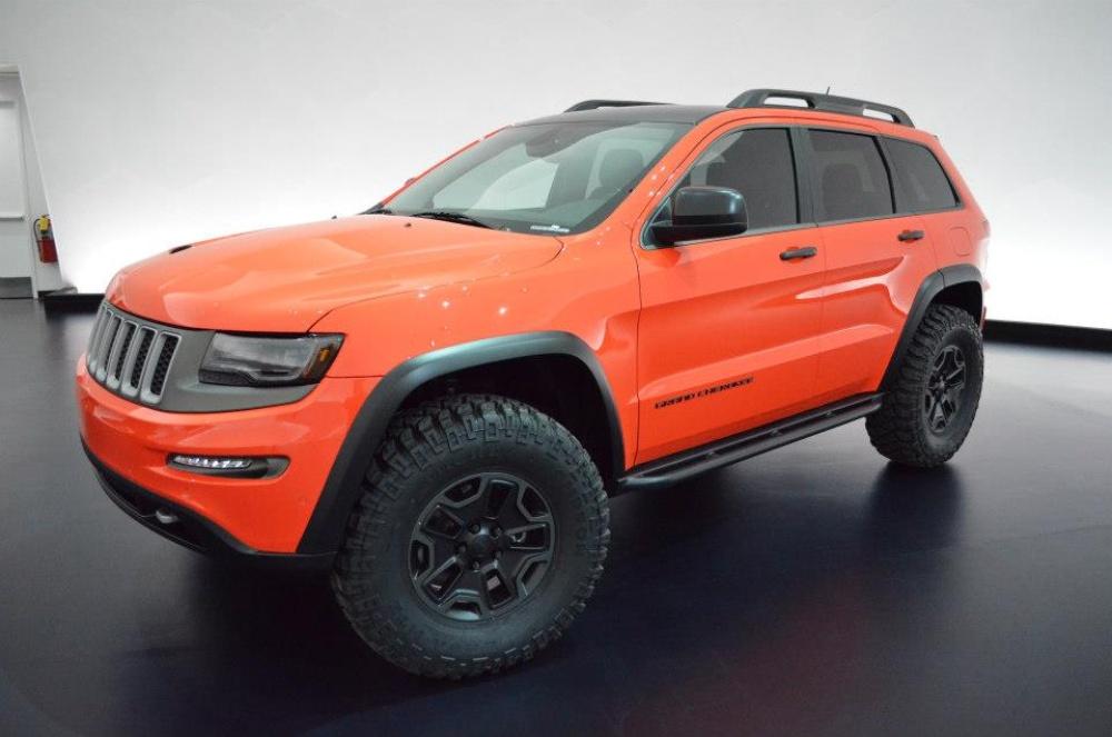 Jeep Concept Jeep Grand Cherokee Trailhawk Concept