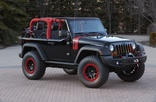 Jeep Concept - Jeep Wrangler Level Red
